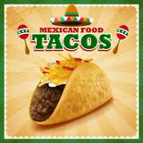tacos mexican food - 76022760