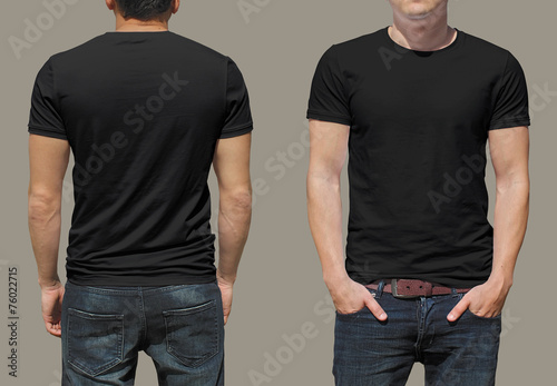 T-shirt template Photo by Dima
