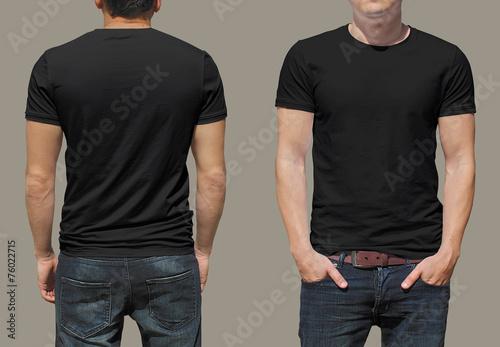 Leinwandbild Motiv T-shirt template