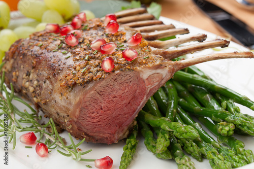 Herb Crusted Rack of Lamb - 76022768