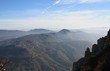 canvas print picture - Bergwelt Montserrat