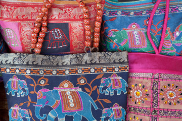 Colorful Indian Purses