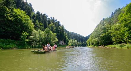 Pieniny, Sokolica, Szczawnica, Przełom Dunajca