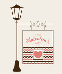 Love design, vector illustration.