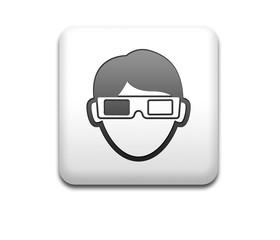 Boton cuadrado blanco espectador 3D