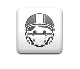 Boton cuadrado blanco 3D football