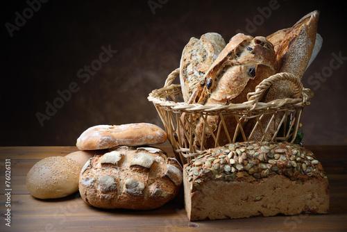 Fotobehang Brood Freshly baked bread