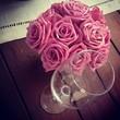 Leinwanddruck Bild - Bouquet de rosas vintage