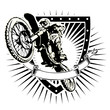 motocross shield - 76026701
