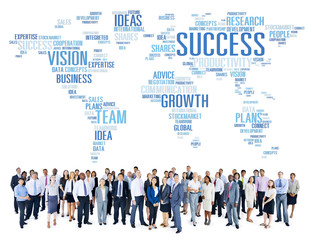 Global Business People Corporate Community Success Growth