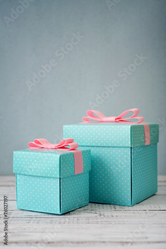 canvas print picture Gift boxes