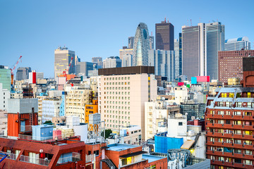 Shinjuku, Tokyo, Japan Cityscape