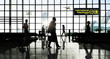 International Departtures Terminal Business Travel Concept - 76027787
