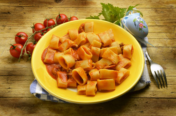 Calamarata Culinária da Itália Cucina italiana Pasta Etrusca