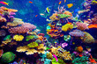 canvas print picture - Singapore aquarium