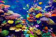 Leinwandbild Motiv Singapore aquarium