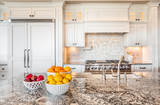 Beautiful Kitchen Detail in Luxury Home