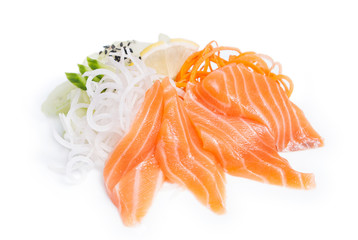 Sashimi Syake with salmon