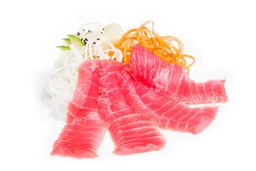 Sashimi with salmon