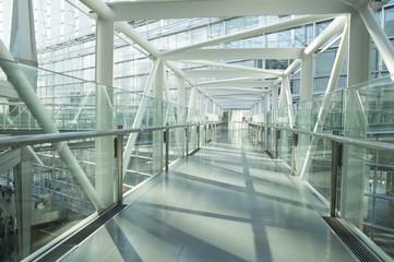 Passage of modern building
