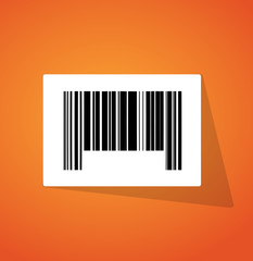 barcode ups code illustration design
