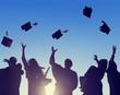 Leinwandbild Motiv Celebration Education Graduation Student Success Learning