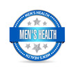 mens health seal illustration design