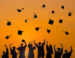 Celebration Education Graduation Student Success Concept