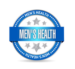 mens health seal illustration design