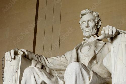 In de dag Historisch mon. Abraham Lincoln