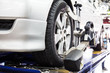 Wheel alignment of a vehicle - 76032799