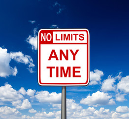 no limits anytime with sky