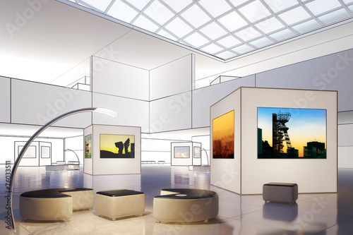 Photography Exhibition Hall (draw) - 76033511
