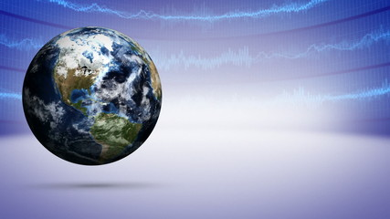 Earth and Business Concept, Background