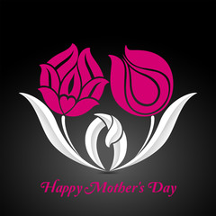 Mothers Day illustration Background
