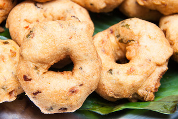 Vada - a Southern Indian Fried Snack