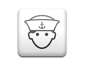 Boton cuadrado blanco marinero 3D