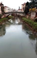 San Michele bridge with the RETRONE River