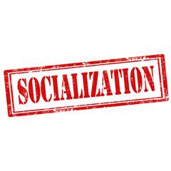 Socialization-stamp