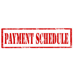 Payment Schedule-stamp