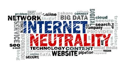 internet neutrality word cloud
