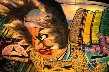 Image of Nebuta, the traditional Japanese festival