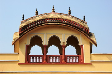 Arched Gallery on Terrace