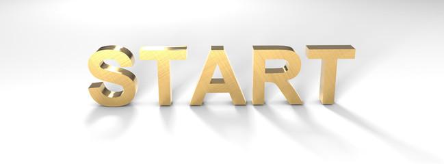 Start Gold 3D
