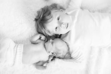 Geschwister von oben