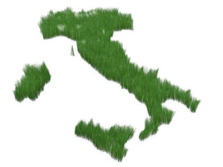 Italy made with grass