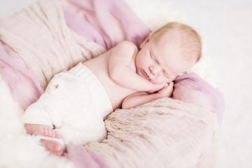 Newborn Baby schlafend