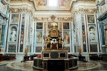 Basilica Santa Maria maggiore - Rome - inside