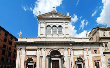 Little Sacro Cuore church in Rome near Termini station