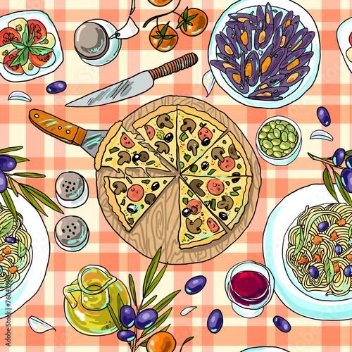 italian food - 76043990